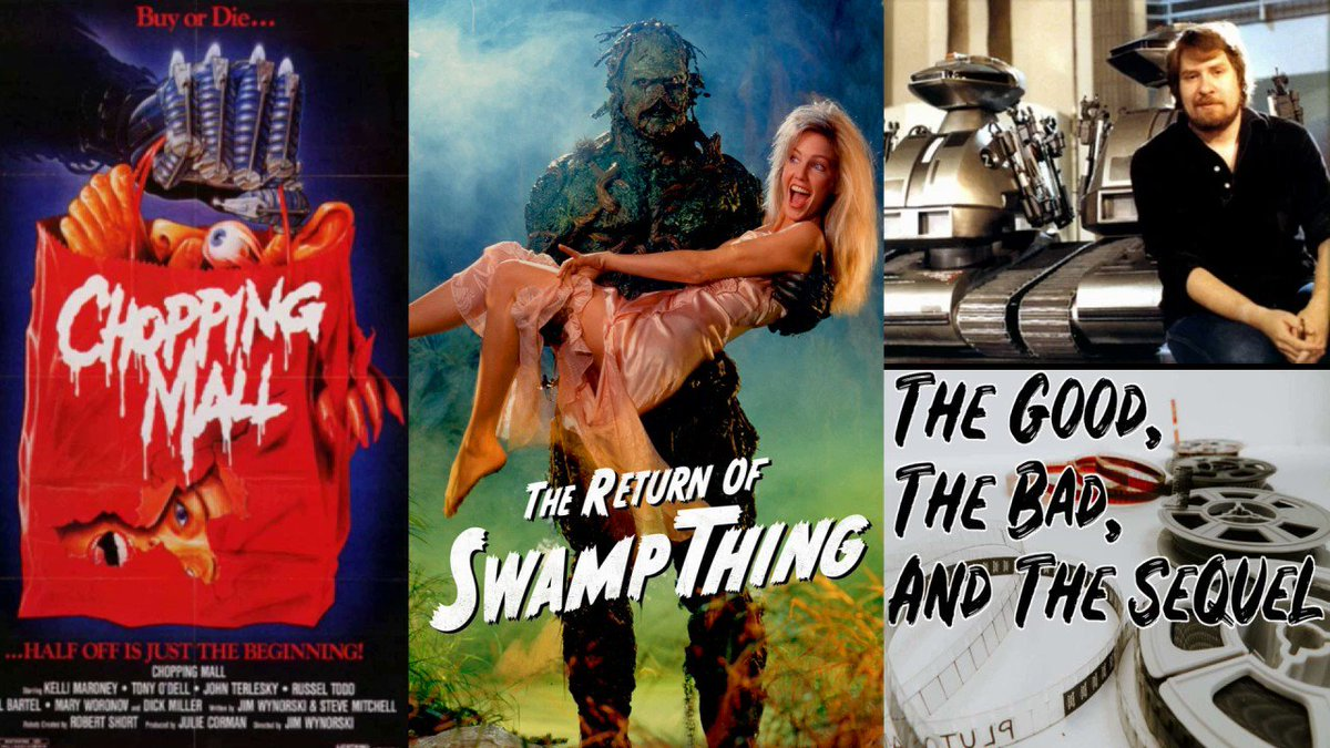 Who doesn't love a good #BMovie? I'm talking #choppingmall #screwballs and #thereturnoftheswampthing, well they all came from the mind of #JimWynorski. Listen to Jim's Story >  #friday #fridayfeeling #movie #movies #80 #fridaythoughts #horror #promotehorror