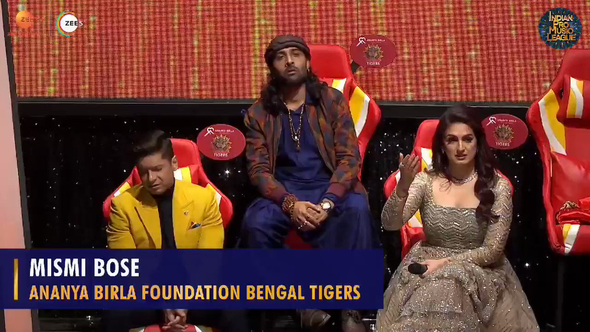 #AnanyaBirlaFoundationBengalTigers' @MISMIBOSE and her soulful performance managed to strike the right chord, here's how! ❣️  Watch #IndianProMusicLeague, every Saturday and Sunday, at 8 pm, only on @ZeeTV & @ZEE5India.