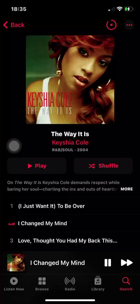 @KeyshiaCole  when were you gonna tell us its on Apple Music !!!WHEN??    Im LOSING MY SHIT !!!!!!!!!