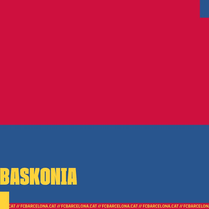 🔥 Game Day! 🆚 @Baskonia  📅 21h 🏆 Round 28 @EuroLeague  🎥 @DAZN_ES + @MovistarPlus (Dial 59) 📌 Palau Blaugrana 🔵🔴 #ForçaBarça!