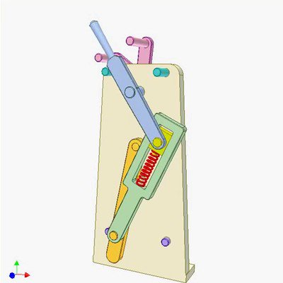 Spring Toggle Mechanism