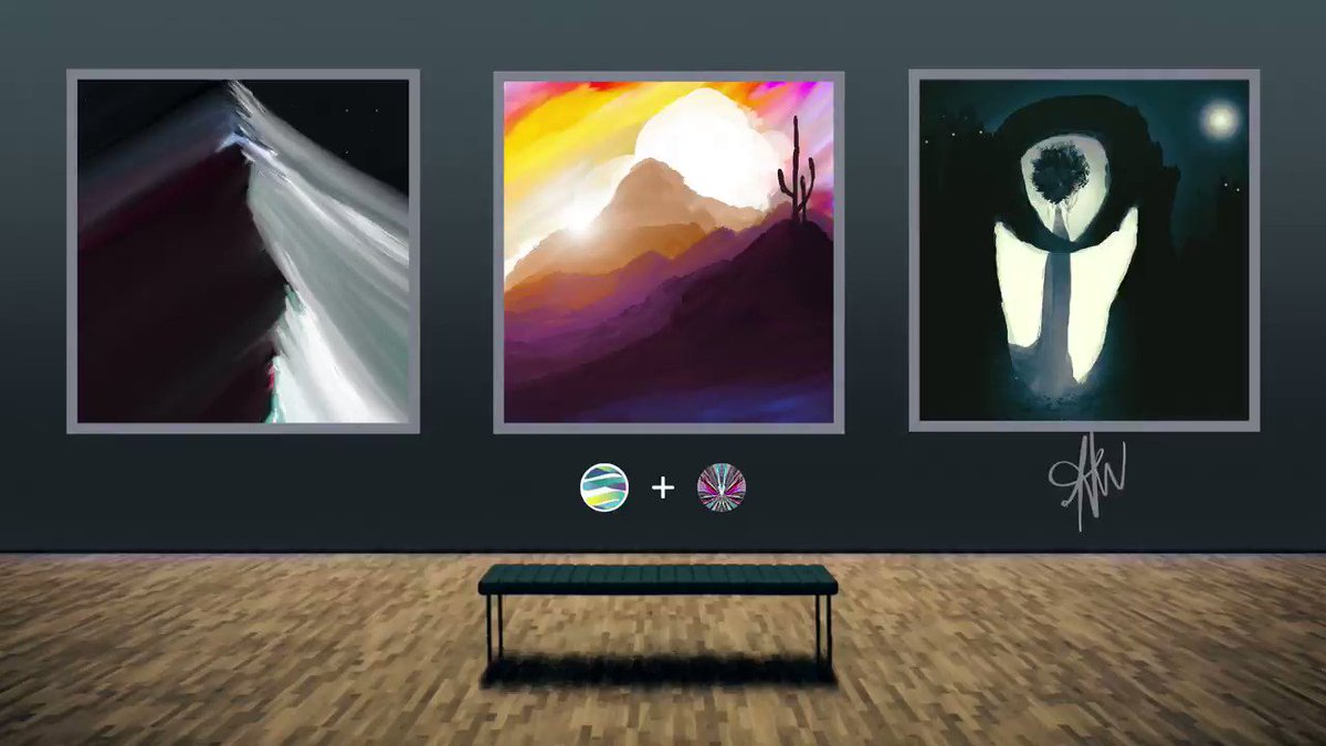 @heather_art_ coming from 🇺🇸, is an #artist focusing on #digital #painting with a background in performing arts. She is bringing amazing #landscapes and #colors into @terra_virtua and @TerraVirtuaArt #NFT sphere! Welcome!  Her works: