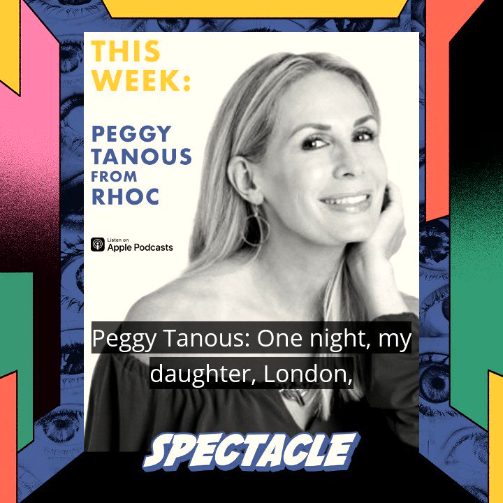 #RHOC @PeggyTanous joins @mRiah on @spectacle_pod for a candid talk on how it takes guts to put your whole life out there for the world to see. Check it out now!