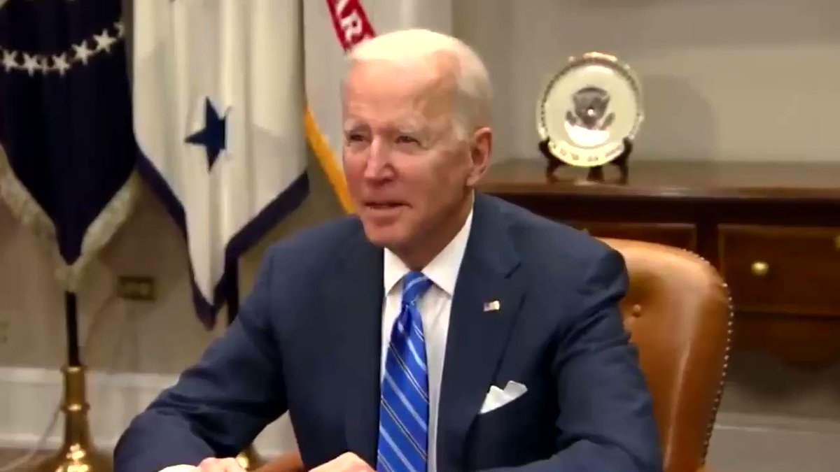 """Biden addresses NASA """"Indian-of-descent Americans are taking over the country. You, my VP, my speechwriter"""". 🤣🧐"""