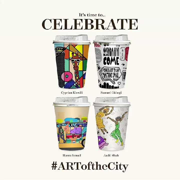 Start each day with Artcaffé.   Brighten up the city with these cute and amazing to-go coffee cups from @artcaffekenya.  #WestgateExperience https://t.co/kOMzD0kleh