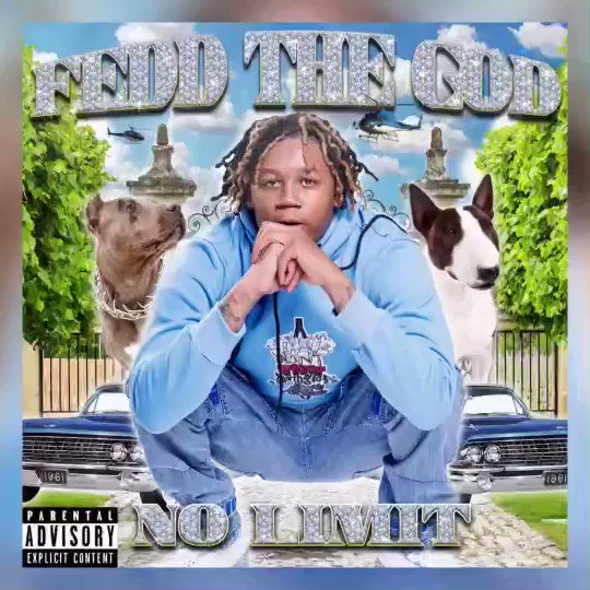 """🚨NEW MUSIC🚨 from @feddthegod 🤑 """"No Limit"""" 🗣 #OutNow on all streaming platforms 🔊 don't sleep on this heat  🔥 and stay tuned for more from Fedd the God 👀 #taylorgang"""