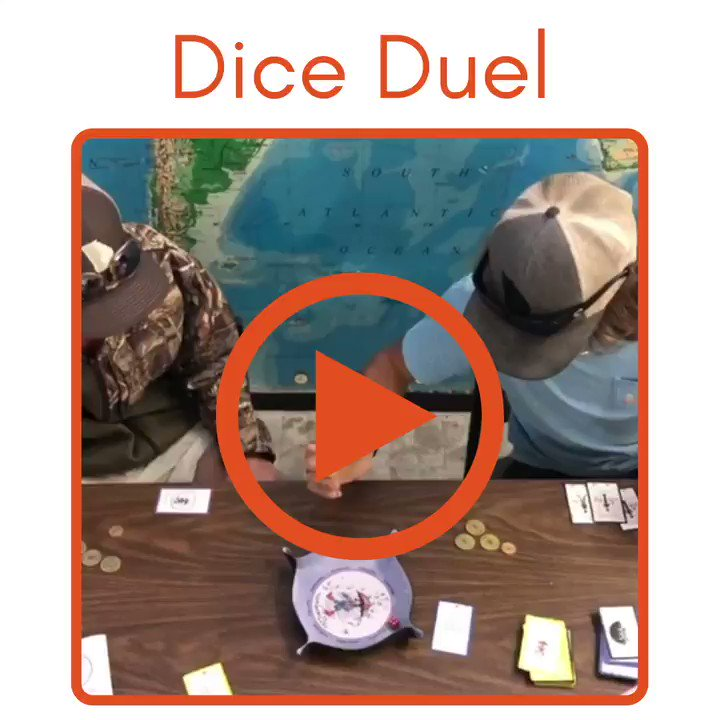 Check out this intense #Numberella Roll-Off   🏌️♀️  #blendedlearning #edutwitter #fridaymotivation #fridaythoughts #fridayvibes #gifted #homeschooling2021 #parents #STEM #teaching  @MrMattock #GrammarDay #MathsDay #WorldBookDay  >>>