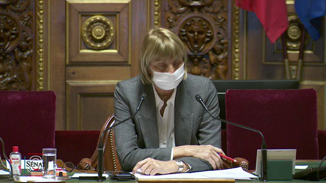 Image for the Tweet beginning: Débat @Senat sur les conséquences