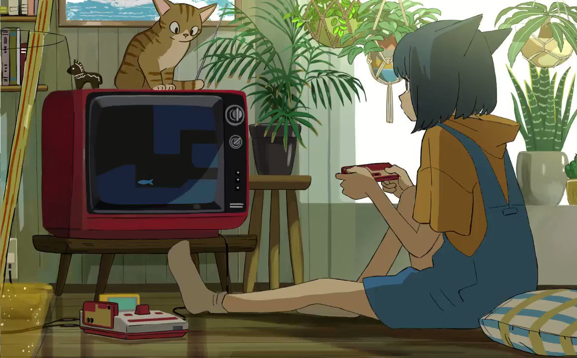 🐱Cat Punch 猫パンチ💥 #indie_anime