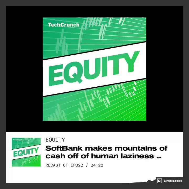 How far can the SoftBank Vision Fund see? On this week's @Equitypod @alex, @nmasc_ and @DannyCrichton argue about the future of insurtech and so much more.