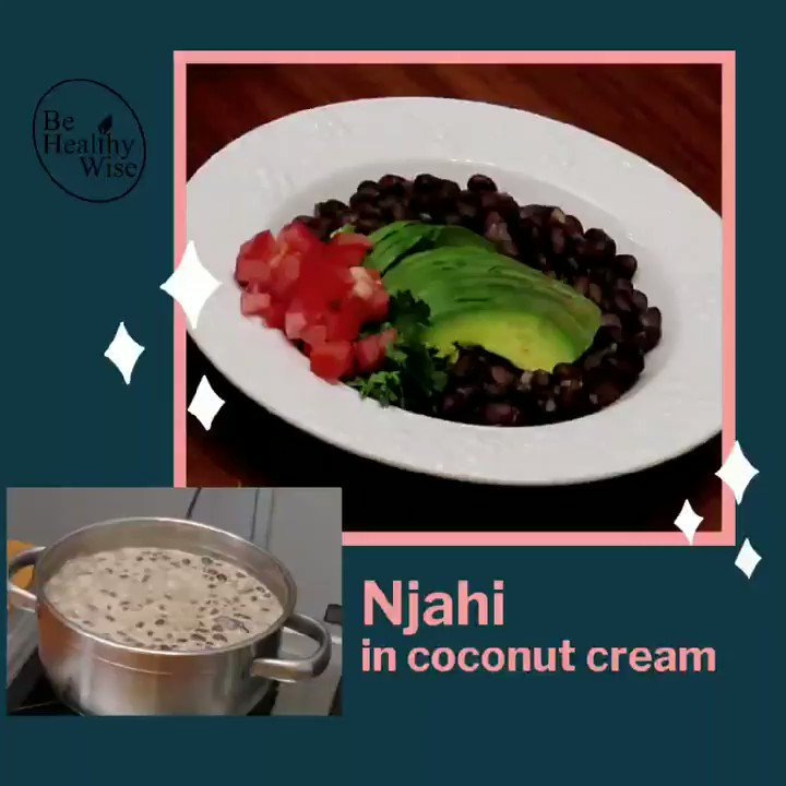 When Njahi is absolutely delicious! The Dolichos Lablab (Njahi) beans have immense nutritional value. With as much as 44 % Protein, they are an excellent choice for a #vegetarian / #Vegan  option #FridayMotivation
