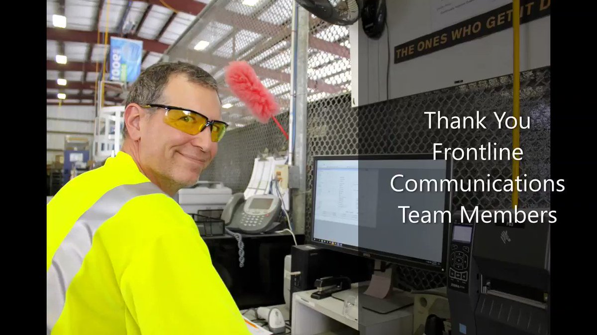 Thank you Frontline Communications' Team Members!  #EmployeeAppreciationDay