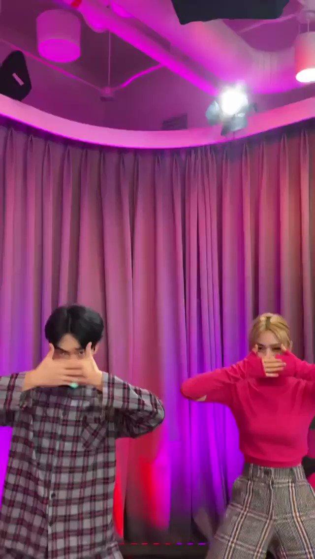 [INSTAGRAM] 📷  ¡Actualización de Ryujin bailando 'Not Shy' con 땡깡 través de sus Instagram Reels!   @ITZYofficial #ITZY #있지 #RYUJIN #류진