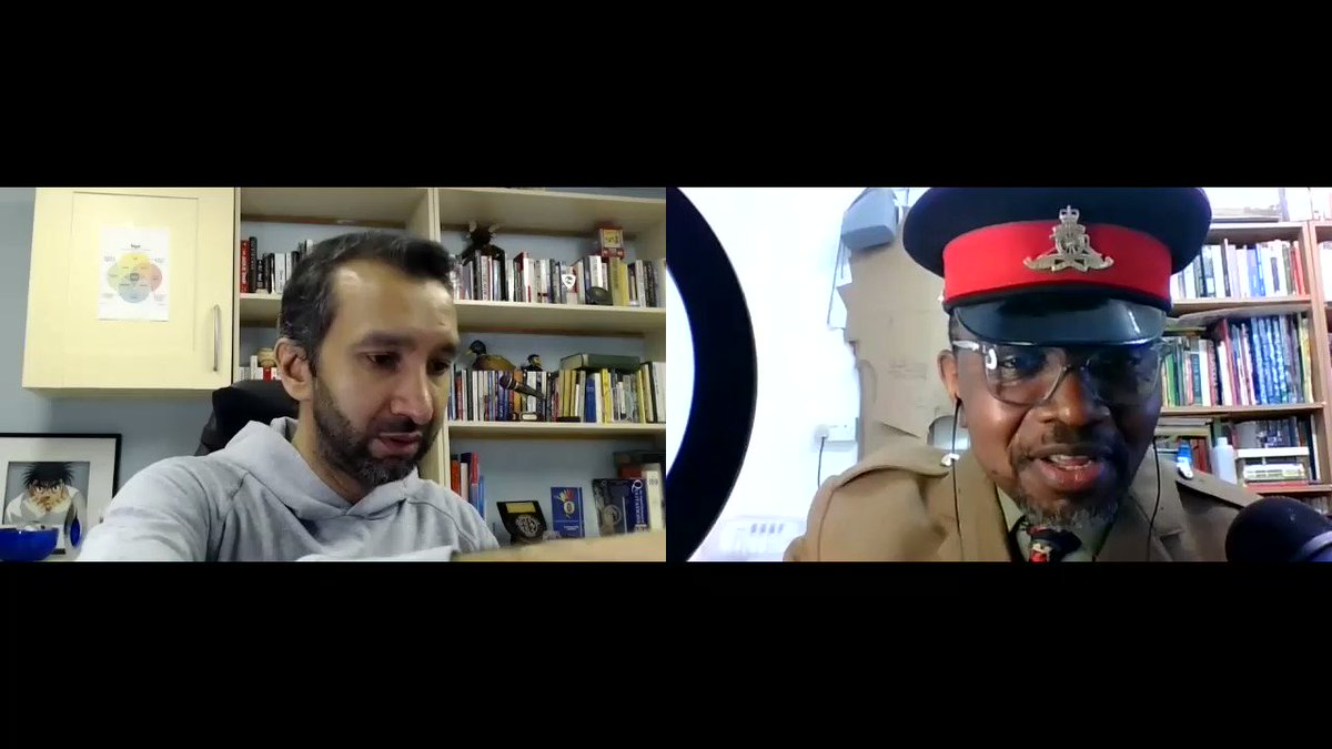Great catching up with @imranyusuf today not so sure if my late father Idi Amin Dada would have approved.
