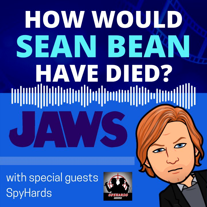 """Starring Sean Bean as """"Bruce the Shark""""? Yeah... We went there... @SpyHards #HWSBHD #Jaws"""