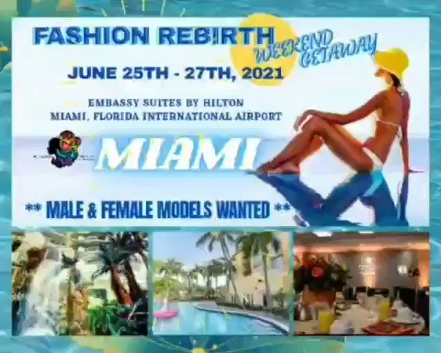 Miami here I come, Models -  sign up by contacting Charisse Edwards  #miami #fashionshow #entertainment #fun #sunshine #performance #blackexcellence #designers #photographers #runway  I'll be performing 🎙🎶 #Vibes  theArtist_SXCSandor