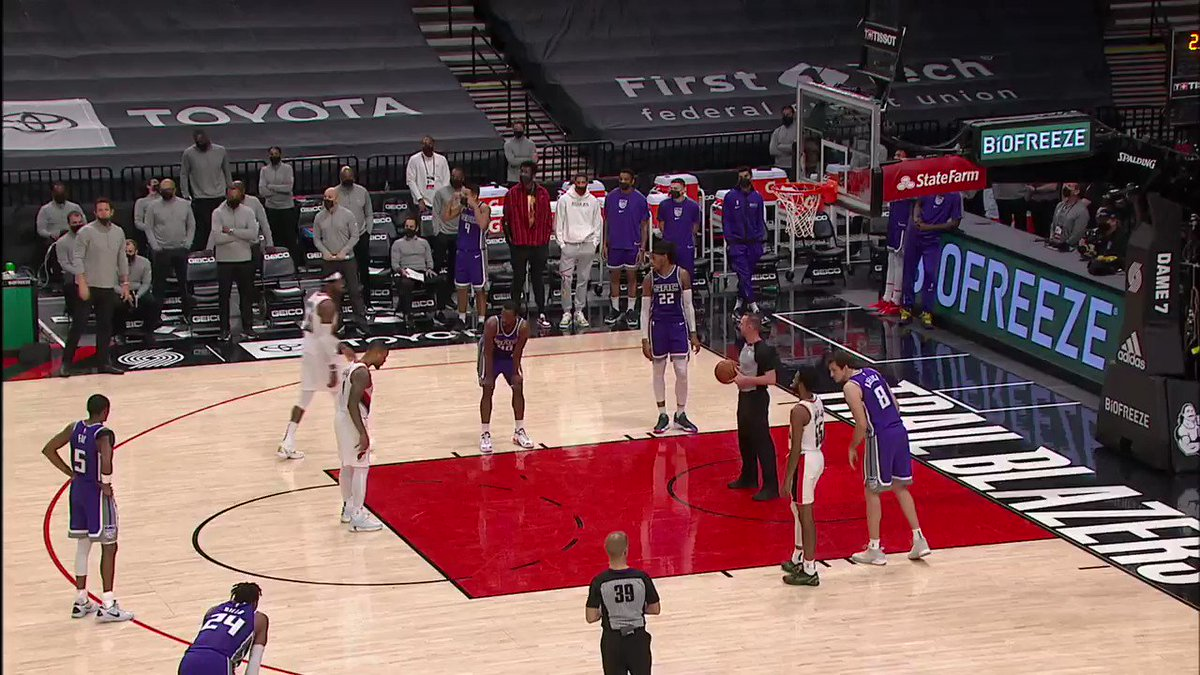 Sacramento's Buddy Hield received a warning for violating the league's anti-flopping rule March 4 at Portland. https://t.co/6AaLXFBAta