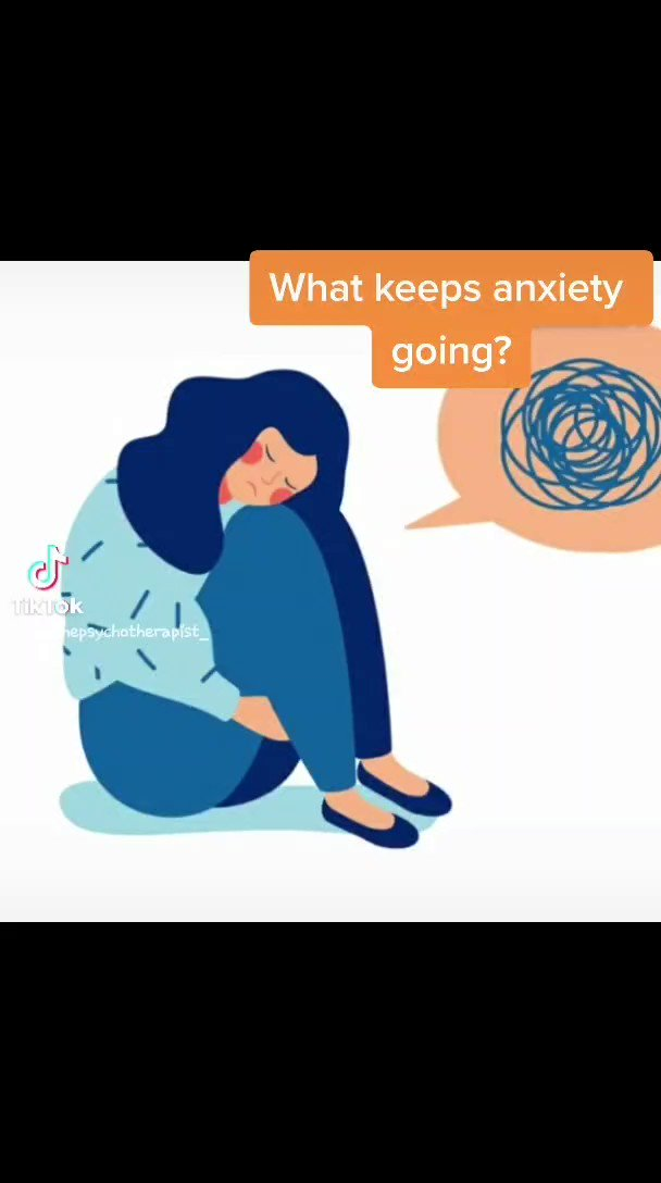 What keeps anxiety going? #anxiety #anxietyawareness #MentalHealthAwareness #AnxietyMakesMe