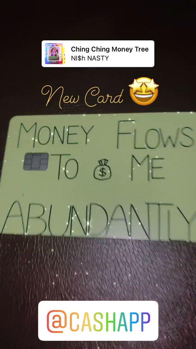 @CashApp Come through $LakynKG love my new card! #CashAppFriday