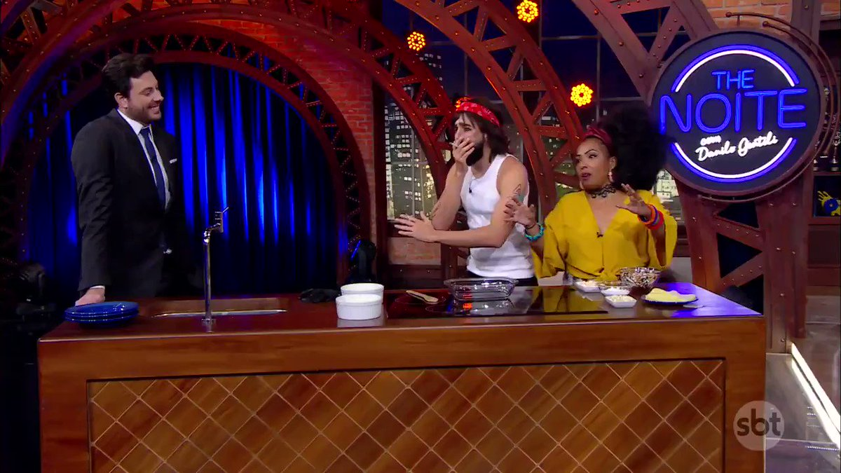Isso é graaave, parceiro!!   #TheNoite