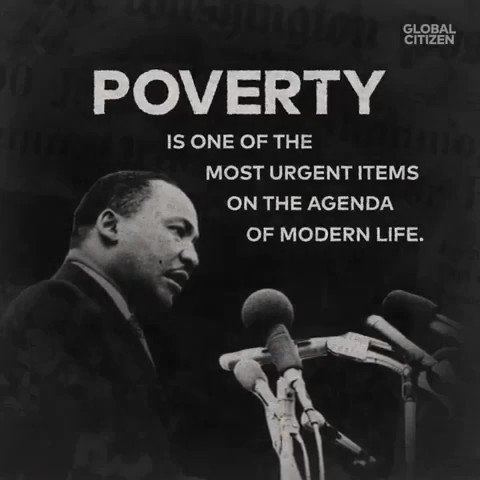 """""""There is no deficit in human resources. The deficit is in human will.""""  More about poverty from my father:"""