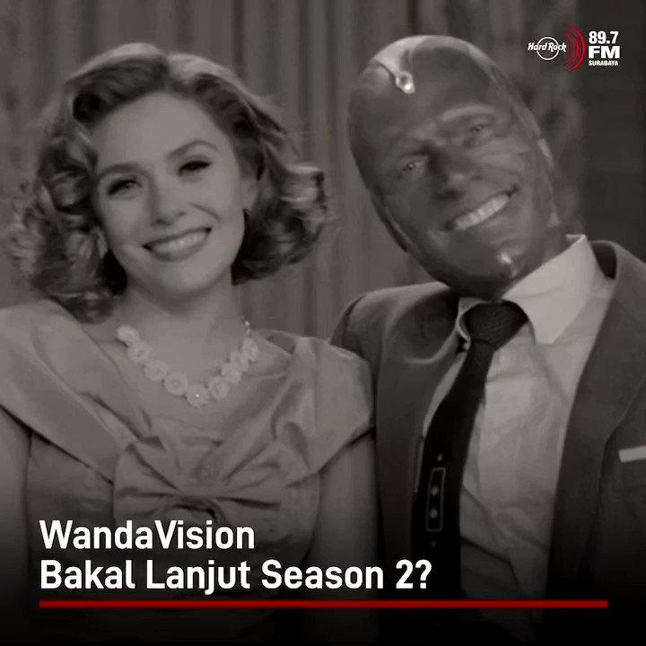 #HRFMNews Udah nonton episode terakhir WandaVision? Lanjut gak nih kira-kira?  Kata sutradara Matt Shakman, sampai sekarang dia dan Marvel belum ada rencana untuk menghadirkan season 2. Memang tidak menutup kemungkinan, tapi kalaupun tidak ada menurutnya bukan jadi suatu masalah.