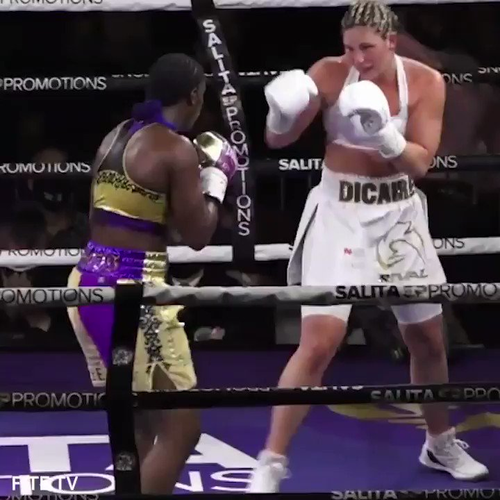 The GWOAT was DOMINANT in her victory 🐐  @ClaressaShields outlanded Marie Eve Dicaire 116 punches to 31 on Friday night. (via @FiteTV) #ShieldsDicaire https://t.co/dqwiYPiUEm