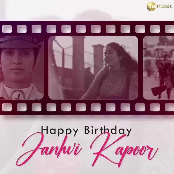 Swaying in style, soaring up high!💃🏼✈️ Here's wishing #JanhviKapoor a very happy birthday!  #HappyBirthdayJanhviKapoor