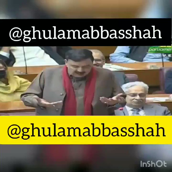 #WATCH interior minister @ShkhRasheed not forget #Pulwama even in the #VoteOfConfidence ,says #PrimeMinisterImranKhan won the post-#PulwamaAttack war with the best strategy and defeated #India in a shocking manner. Today, the #UnitedStates #China & #Russia are with #Pakistan