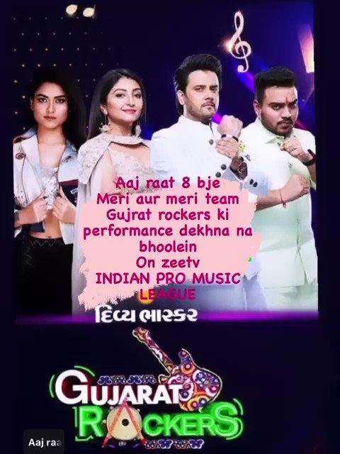 Get ready 12 minutesleft @ipmlofficial @Divya_Bhaskar @javedali4u @BhoomiOfficial #HemantBrijwasi @akanksha_0711 @ram_mishra15 @ZeeStudios_ @Contiloe1 #DivyaBhaskarGujaratRockers #SalmanOnIPML #IPMLonZeeTV #Zeetv #MusicKiUltimateTakkar #IPML #MusicUnchaRaheHamara #MusicKaT20