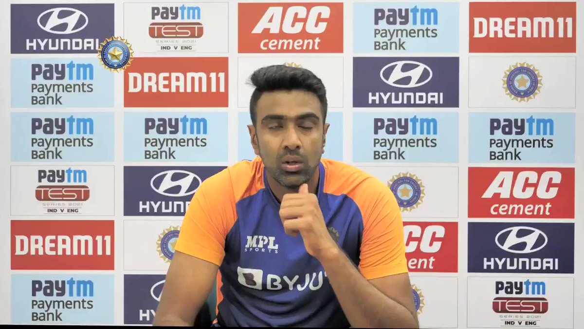 """🗣️ """"The is one of the happiest phases of my career.""""  @ashwinravi99 on bonding with the team while being in the bio-bubble  👌👌  @Paytm #TeamIndia #INDvENG"""