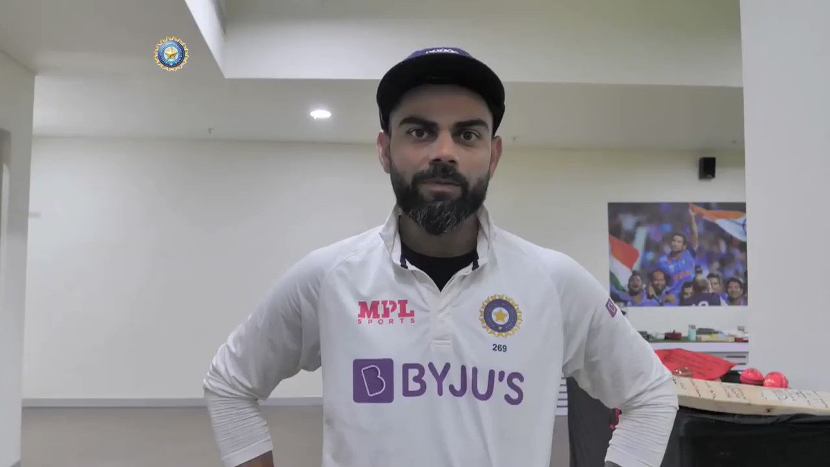 """""""ICC World Test Championship Final, here we come""""   #TeamIndia share their emotions of reaching the ICC WTC Final & speak about the road which led to the summit clash, where they will face NZ 👌👌 - By @RajalArora   @Paytm #INDvENG   Full feature 🎥 👉"""