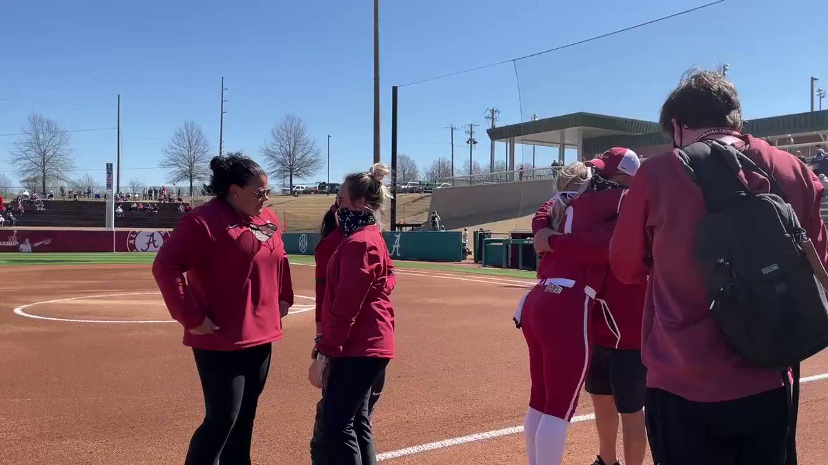Happy Senior Day Sarah! #RollTide #PartyAtRhoads 🥎🎉