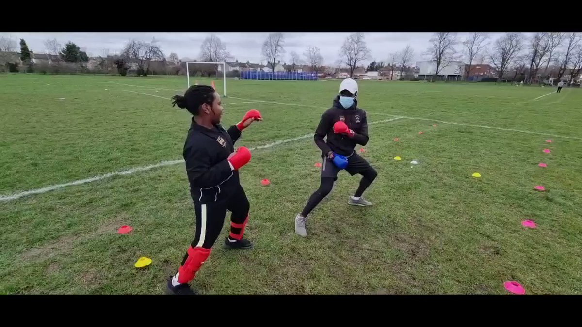 Felt great to be outside and do some sparring with @OlympicKarate 🥋🤜🏾💥 #UFC #UFCFightIsland #UFCVegas #mma #ufcfightnight #ufcchampion #UFC259 #karatekid