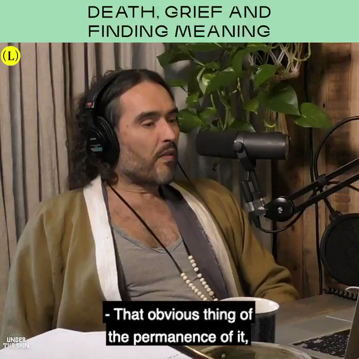 This week's guest on #UnderTheSkin is death and grieving expert David Kessler (@IamDavidKessler), author of 'Finding Meaning: The Sixth Stage of Grief'.   You can listen to the full conversation over on @hearluminary now!