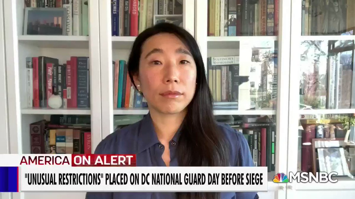 The link between the pro-Trump Insurrectionists and the Trump White House gets clearer. @ktbenner reveals that one of those recently arrested was still employed at the Trump State Department on Jan 6th. #velshi https://t.co/7WgaUkfRc2