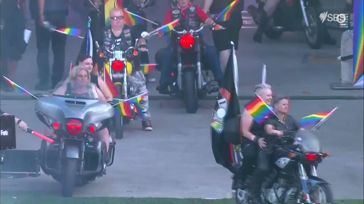 LOOK: People gathered for the annual Gay and Lesbian Mardi Gras parade in Sydney, Australia on Saturday, continuing the tradition in a socially-distanced format
