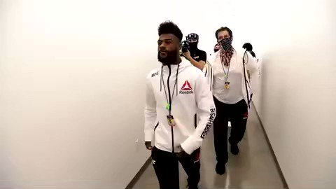 Sterling has arrived to the APEX! #UFC259 https://t.co/fTTMJxCXvj