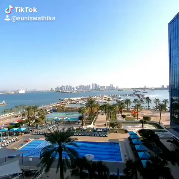 Good Morning 💙 #tiktok #fyp #beautiful #view #dubai #visitdubai #amazingdubai #outandabout #reels #igers #instatravel #igtravel #travelgram #beach #beachlife #beauties #beauty #weekendvibes