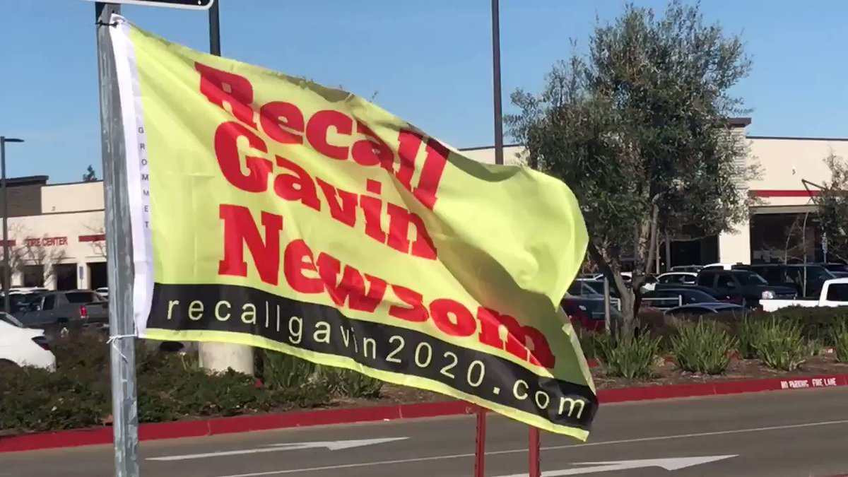 Image for the Tweet beginning: #RecallGavinNewsom