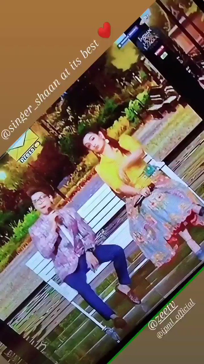 @SingerShaan at its best ❤  #indianpromusicleague  @ZeeTV @ipmlofficial