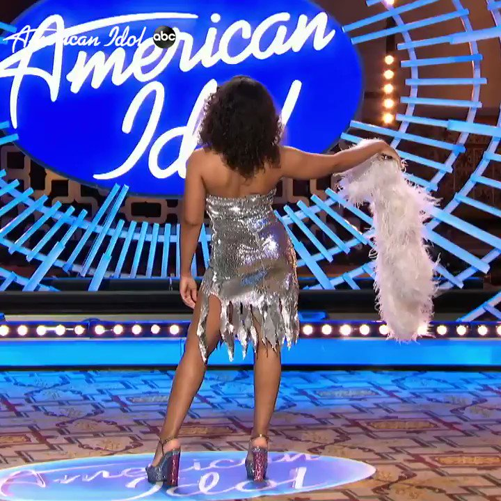 Disco is alive and well in @reh_music #AmericanIdol https://t.co/Yz1MJoxtOE