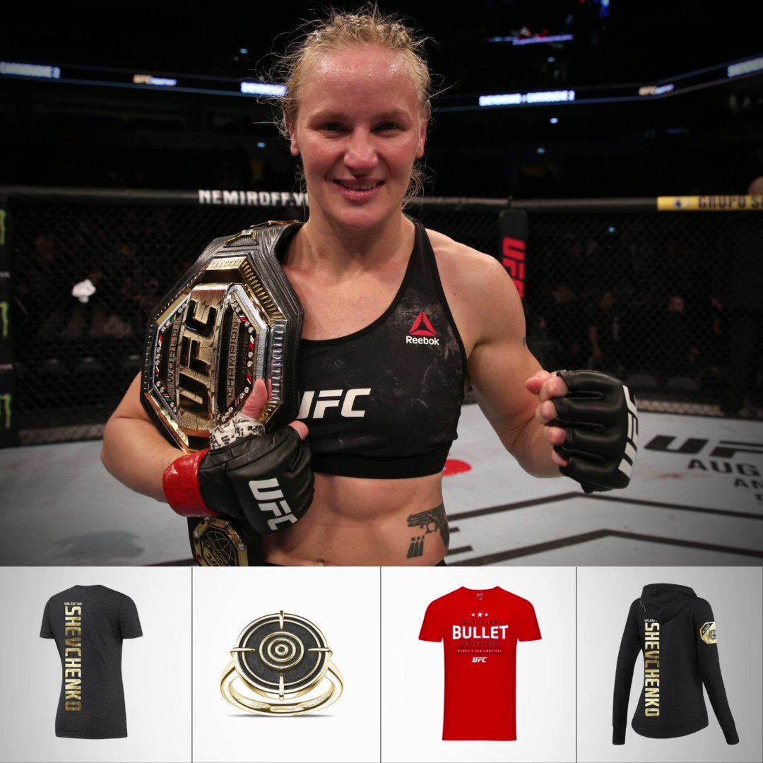 HAPPY BIRTHDAY VALENTINA! 🙌 With International Women's Day 2021 tomorrow, we not only celebrate her birthday but her achievements as a woman as the first female UFC Champ from Kyrgyzstan. #IWD2021 #UFC #UFCStore >>