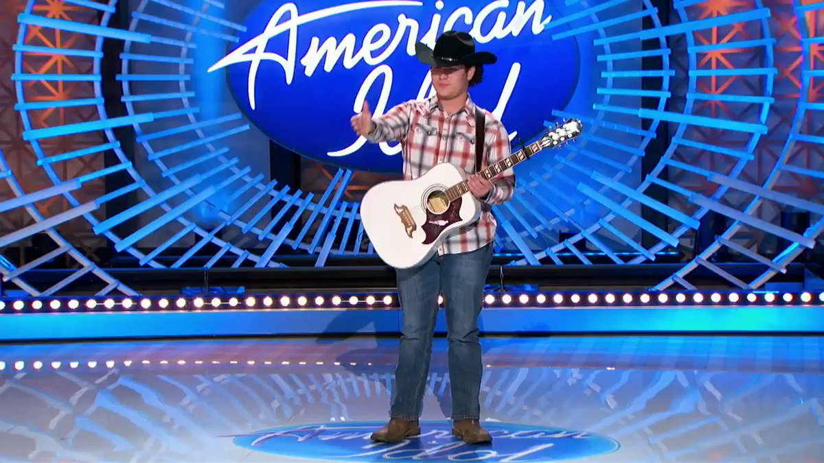 """Safety first handshake! Let """"Nowhere"""" take you SOMEWHERE! @calebkennedy #AmericanIdol https://t.co/1Kg4DSHuB8"""