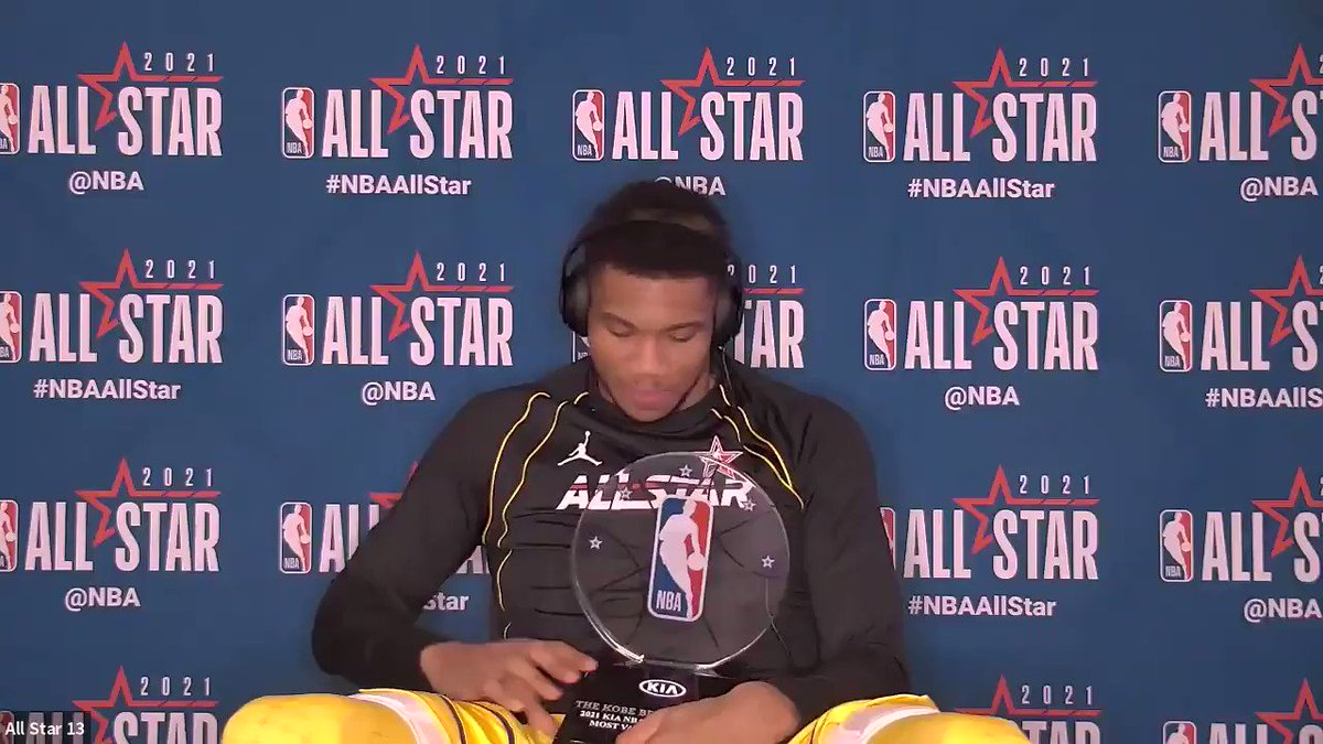"""""""Milwaukee, this is for you!""""   @Giannis_An34 😂  (via @NBA)"""