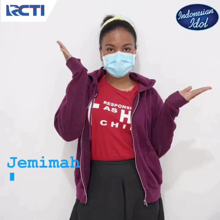 "Kalau Jemimah ketika OkeMin tanya, ""seberapa yakin sih kamu akan masuk ke -5 besar? Ini jawabannya   @jemimahcita #IdolANewChapter #IndonesianIdol #HomeOfTheIdols #IdolSpektaTOP6"