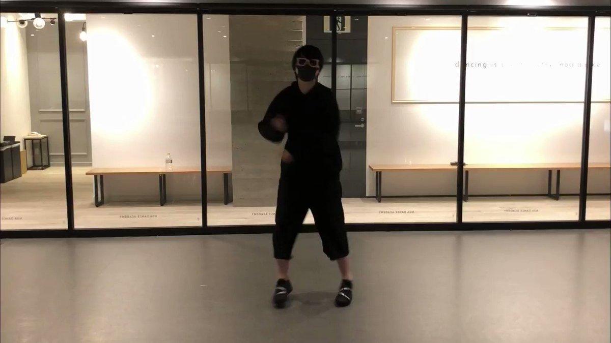 ダンス初心者が惑星ループ一発撮りで踊ってみたwwww  フル→   #拡散希望️