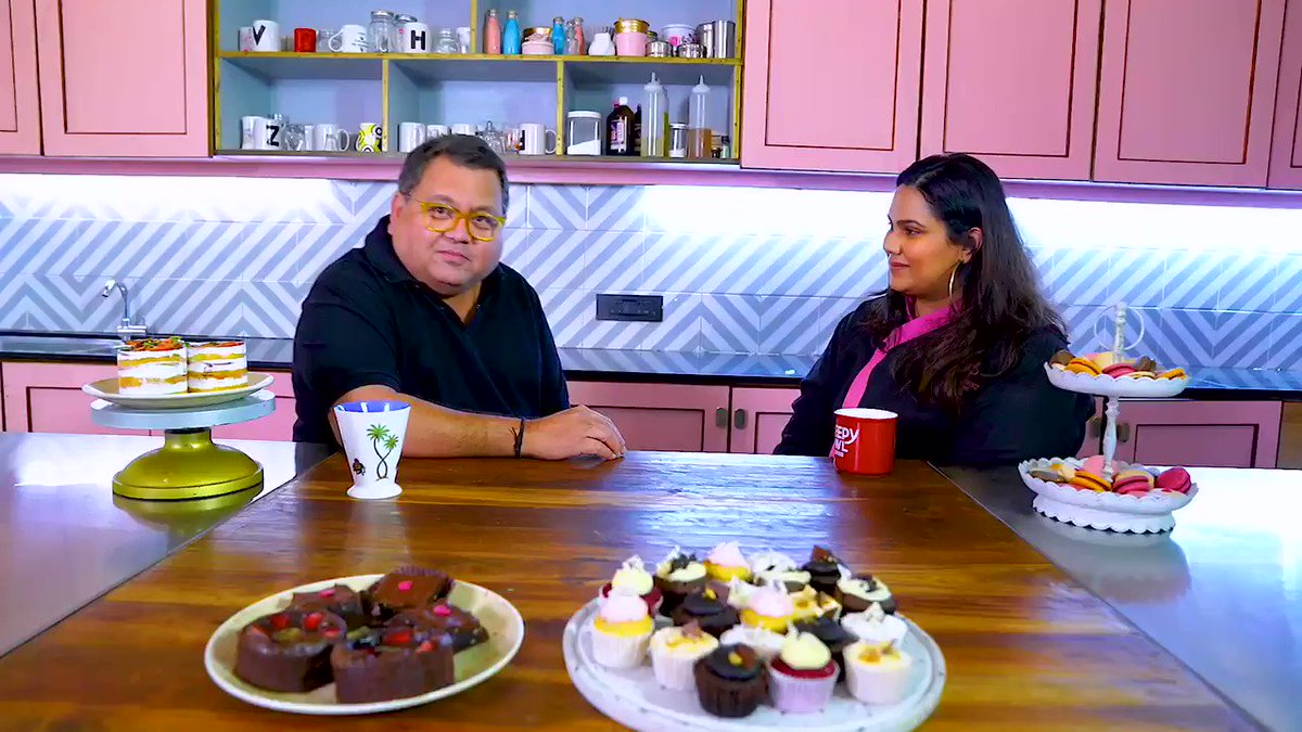 Indian women making us proud. #happywomensday   @poojadhingra had a great time with you ❤️  You guys can also check our full episode   #dessert #food #foodporn #foodie #cake #yummy #instafood #chocolate #sweet #delicious #homemade #foodphotography #desserts