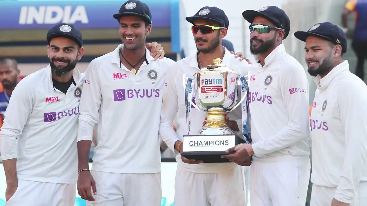 """""""If you look at last two and half years, how we have played, we deserve to be in that final.""""  Being in the #WTC21 final alongside New Zealand means a lot to India captain @imVkohli"""