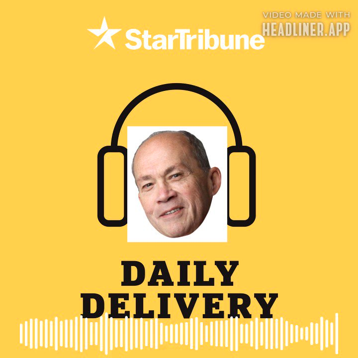 On today's Daily Delivery, @Patrick_Reusse joined to talk about his emerging bid to become our new #gophers football writer (and got in a good one liner about KG in the process)  Apple: https://t.co/iRxXK7g9op  Spotify: https://t.co/fCGXFlpfDd  https://t.co/qRUmEoQjrN  Clip: https://t.co/xqq5s9Znk4